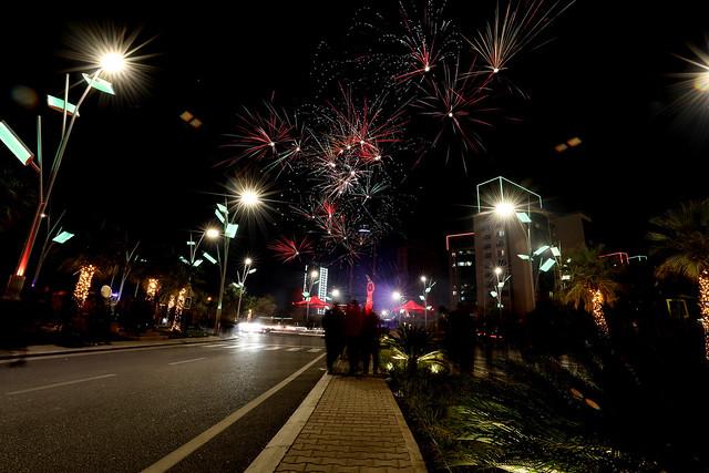Happy new year 2021 in erbil