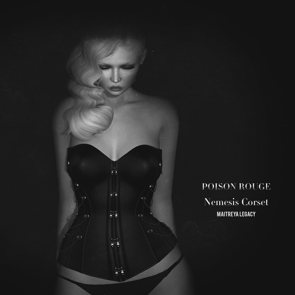 POISON ROUGE Nemesis Corset @Kinky Event