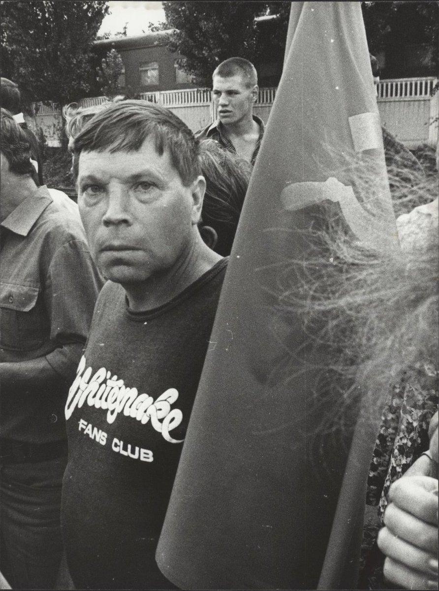 02. Митинг общества «Память»