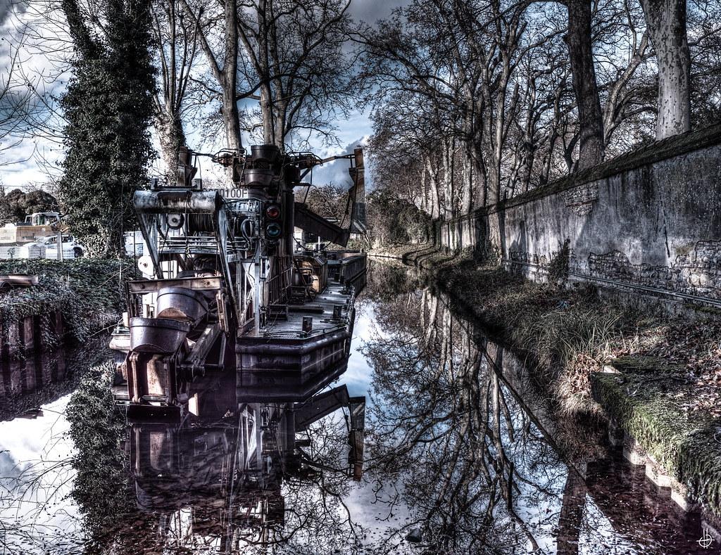 L'eau verte du Canal Du Midi 50794622256_605275241c_b