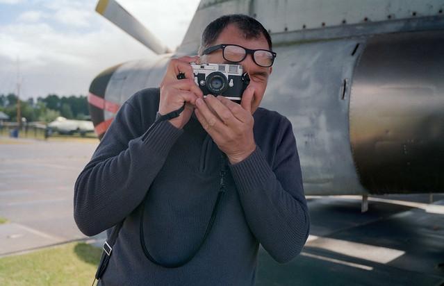 Leica shooting Leica