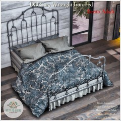 DD Cary Wrought Iron Bed-Adult Ad