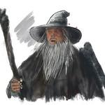 Gandalf Art Portrait