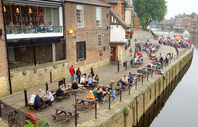 Riverside boozers at York