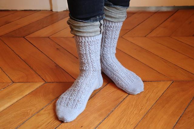 Cactus Flower Socks