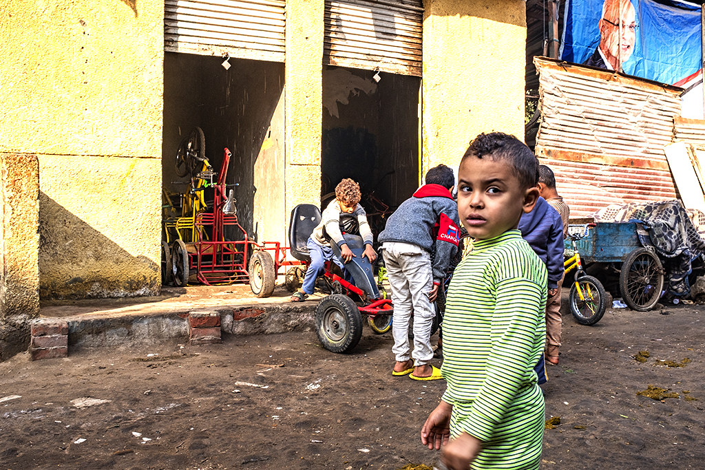 Old Cairo alley on 1-3-21--Cairo 2
