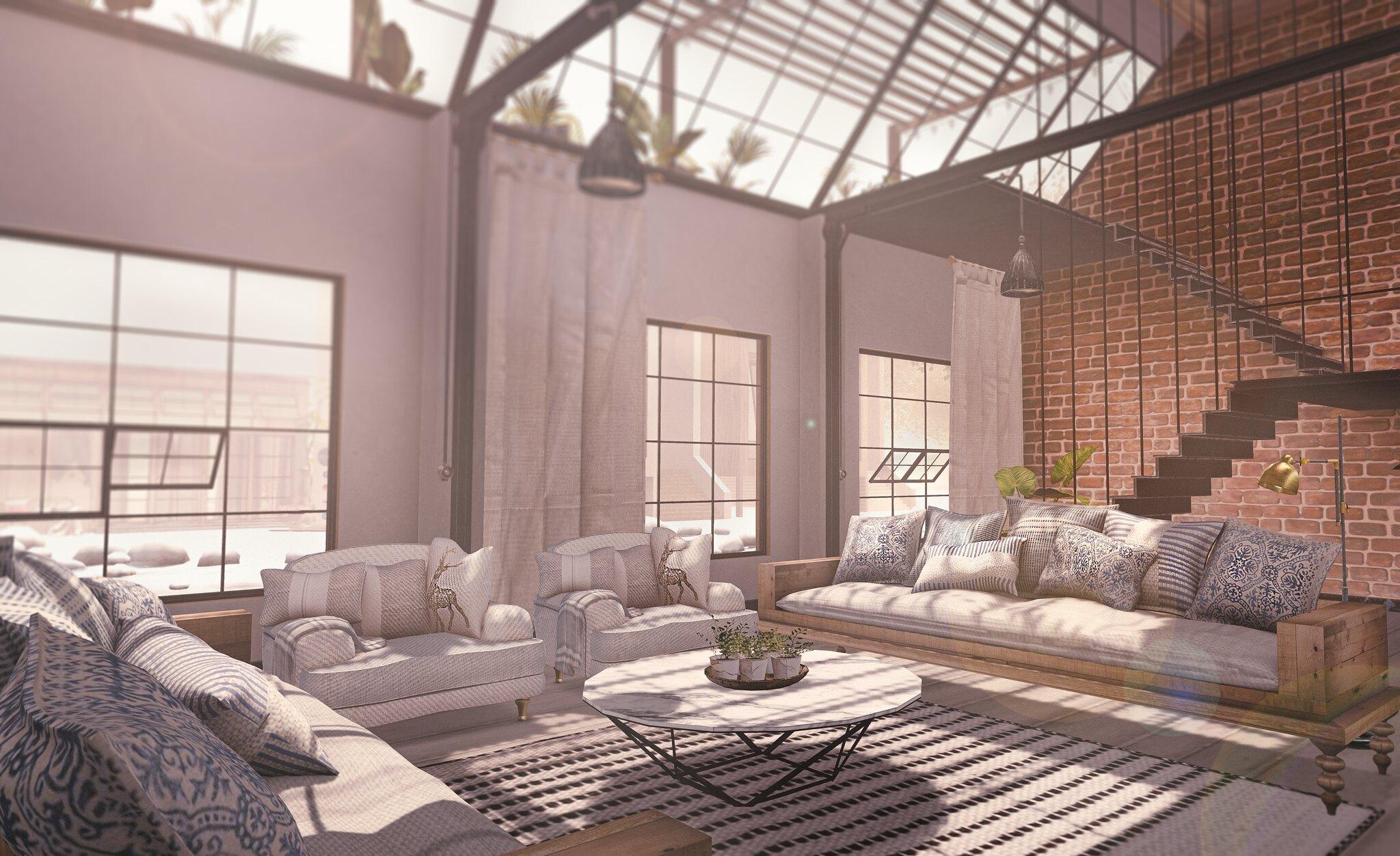 Glamorous Furniture//Ana by Scarlet Creative