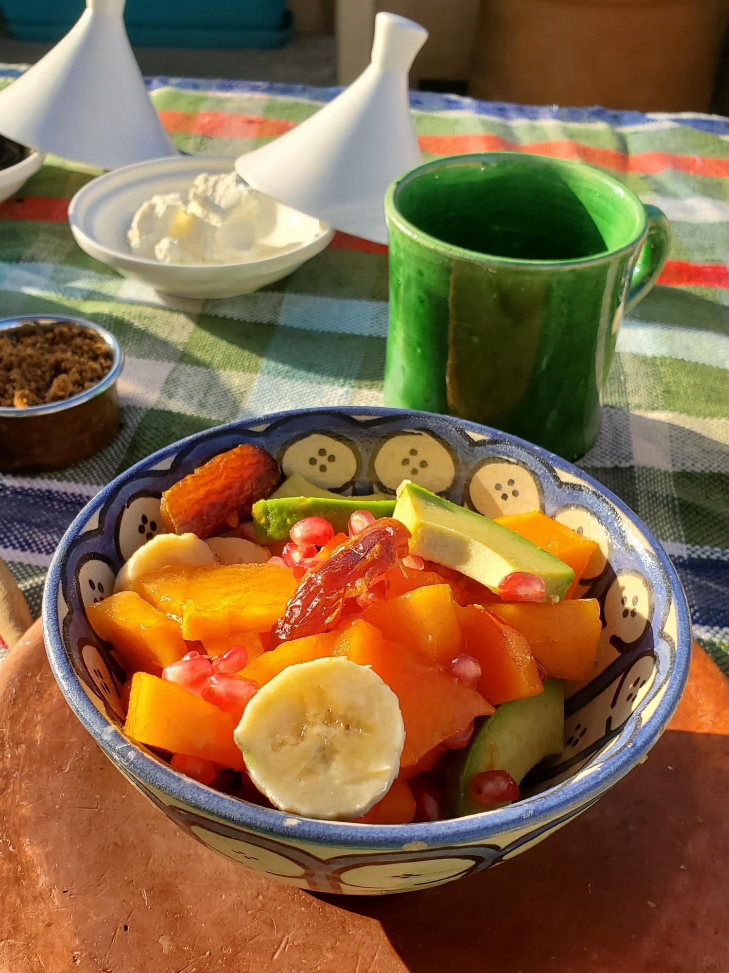 Morocco breakfast