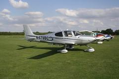 N479BC Cirrus Design SR-22T [1073] Sywell 310818