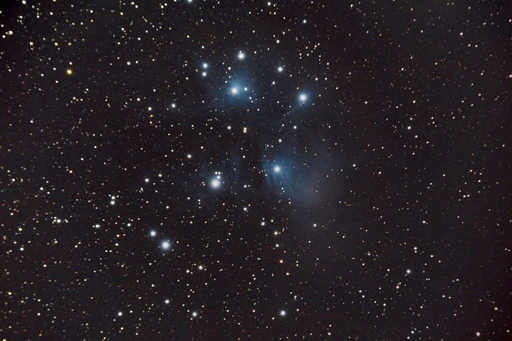 Image of M45 - The Pleiades Star Cluster