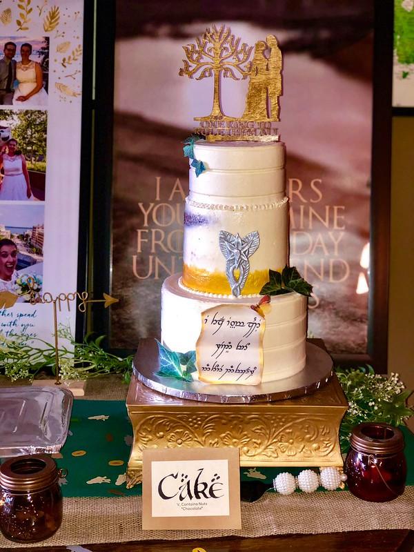 Cake by Kimberly Stefanowicz of Sugar Dust, LLC