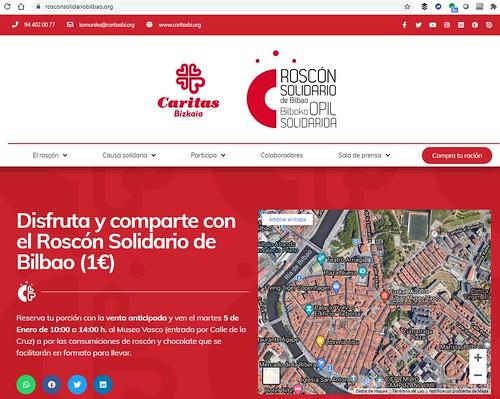 XVII Roscón Solidario de Cáritas en Bilbao