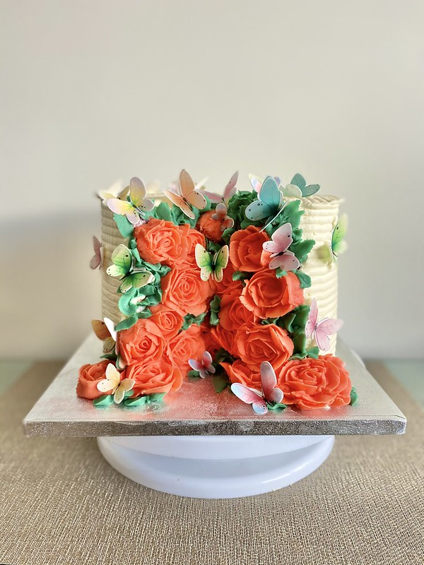 Bloom into Spring Cake by BakedGoodies by Dine