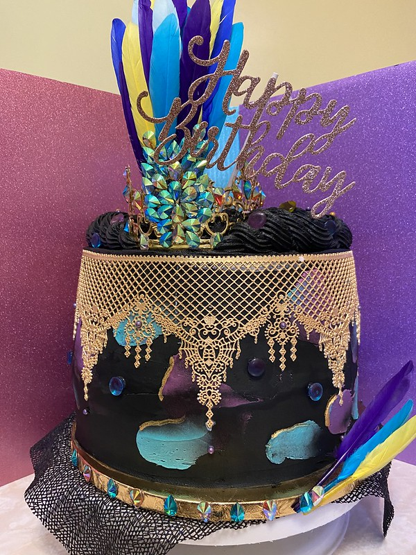 """""""Carnival"""" Themed Buttercream Cake by Kay-D Ross Confections"""