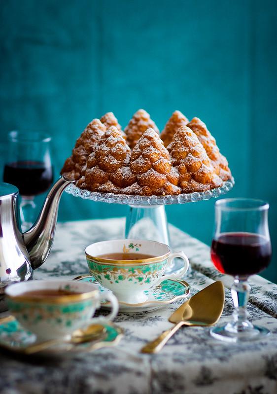 Sherrykuchen mit Kardamom