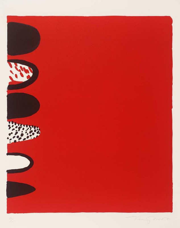 Red with Black on the Side, 1970