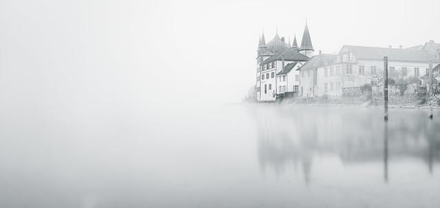 Steckborn at Lake Constance High-key - Switzerland