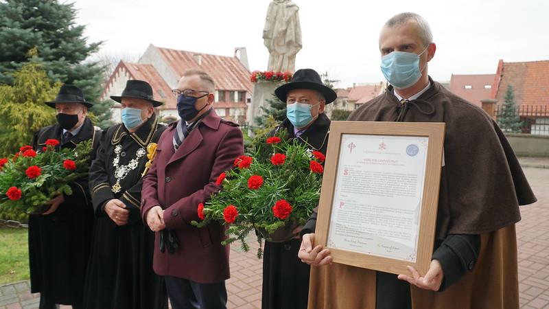 Otwarcie kościoła stacyjnego Roku Jakubowego w Brzesku / 3.01.2021