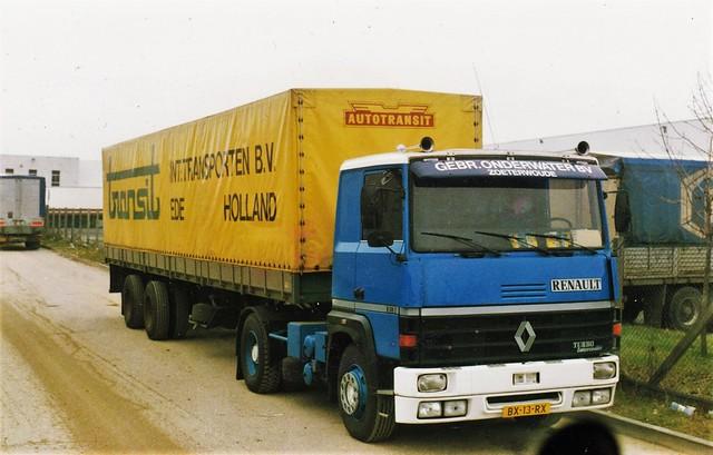 Renault R310-19t Transit NL BX-13-RX Créteil (94 Val de Marne) 1990a