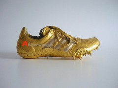 VINTAGE ADIDAS GOLDEN TRACK SHOE / SPRINTER SPIKE