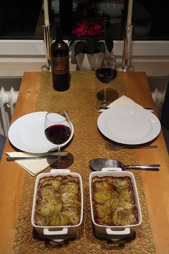 Französischer Lammtopf (Tischbild)