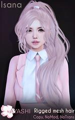 [^.^Ayashi^.^] Isana hair special for FaMESHed