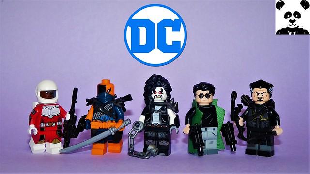 Bounty Hunters & Hitmen [DC Comics Minifigs #17] + ANNOUNCEMENT