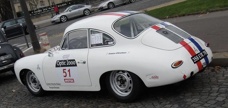 Porsche 356 Tour Auto 2020 / Optique 2000 - Paris Vauban Jan 50796247741_6a83836332_c