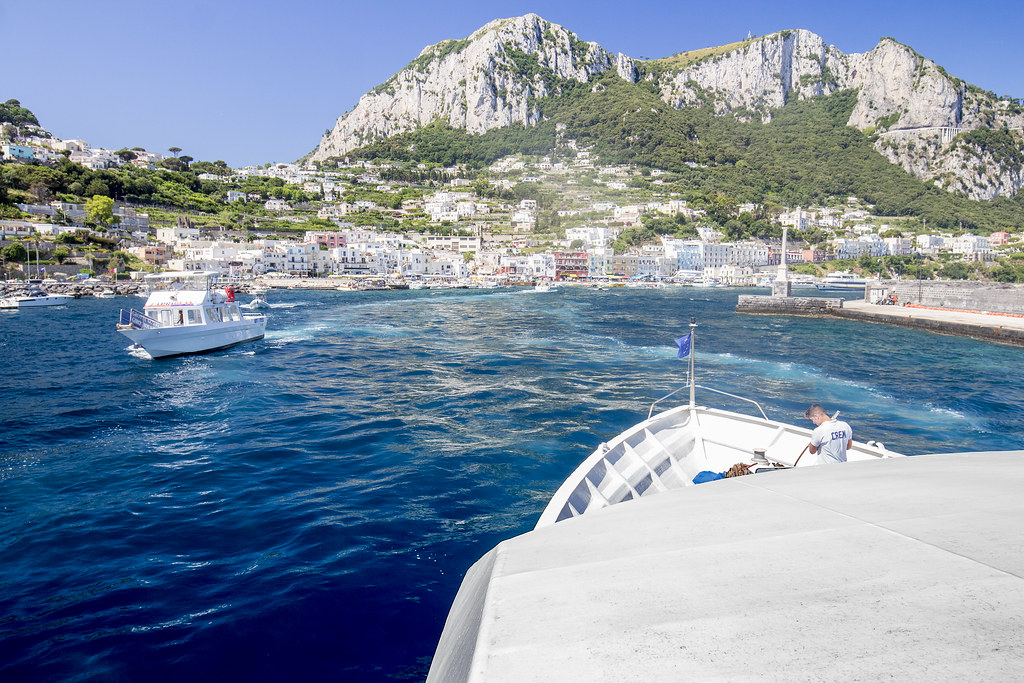 Capri trip - Marina Grande