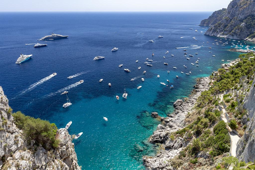 Belvedere of Punta Cannone - Capri