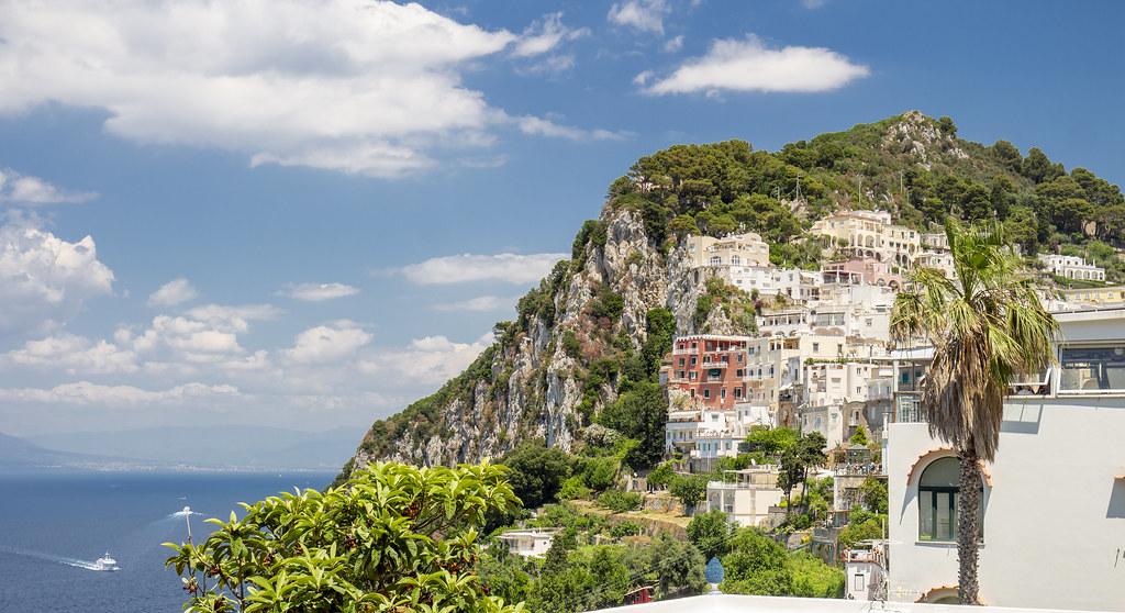 Capri city
