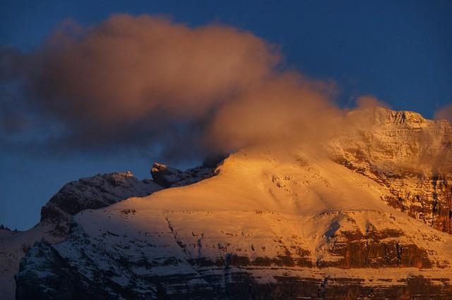 Ultime luci sulle Dolomiti