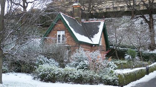 Princes Street Gardens, Winter's Day 014