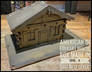 Folk Art I wish to sell to a Collector-made by  Soldier/GI-1946