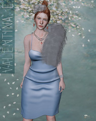 NEW!  Valentina E. Nova Dress @ FaMESHed!