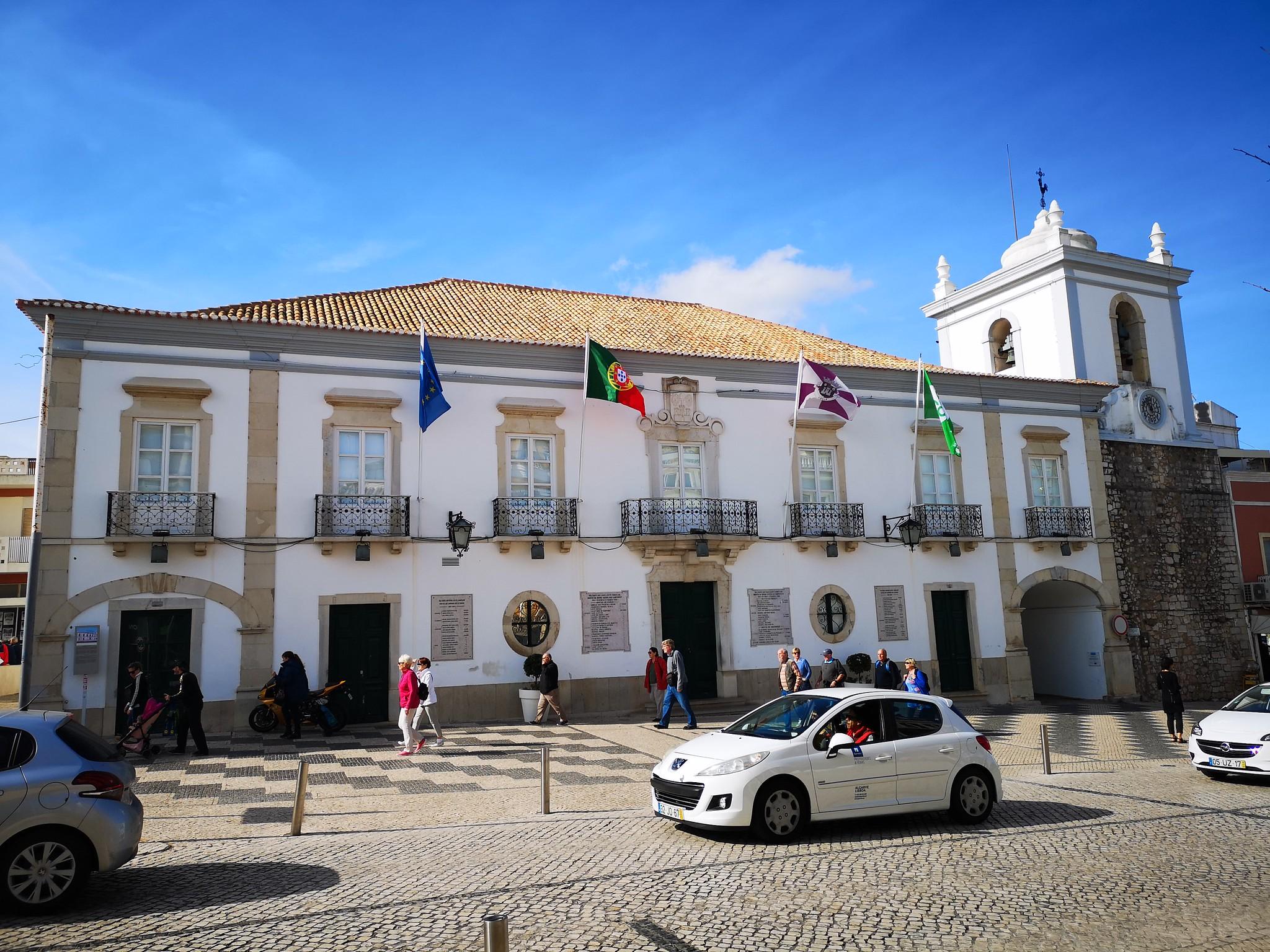edificio Ayuntamiento de Loulé Portugal
