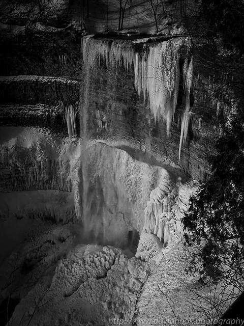 Tew's Falls in Winter