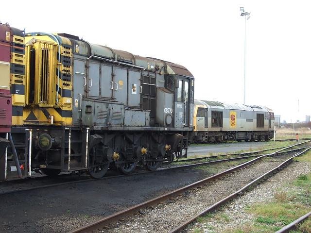 Final days at Margam depot