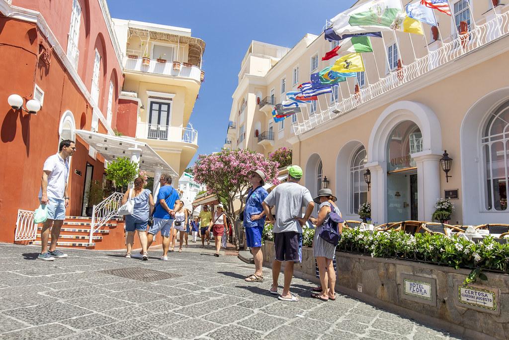 Via Camerelle - Capri