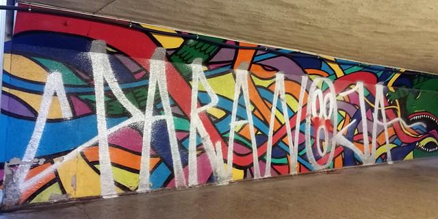 Pack, interwencja na muralu Duluxa