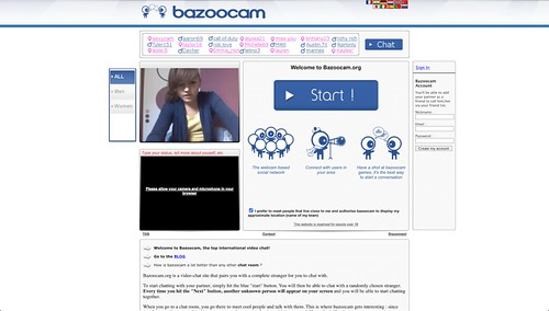Bazoocam: Web de Video Chat tipo Chatroulette [Actualizado]