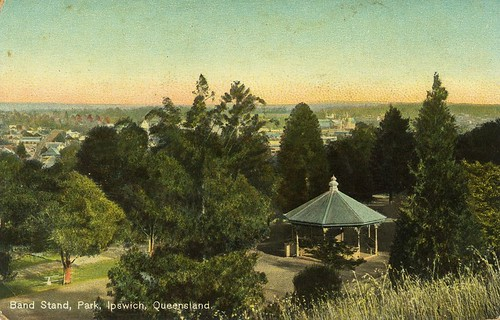 rotundas bandstands parkcovers shelter colour park sunset