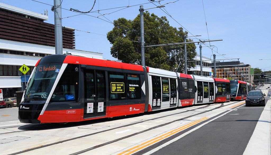 LRV 02, Randwick, Sydney, NSW.