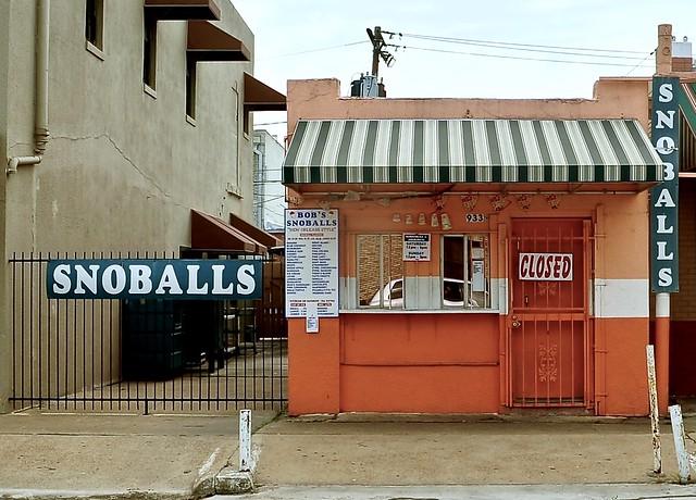 Bob's Snoballs - Rosenberg, Texas