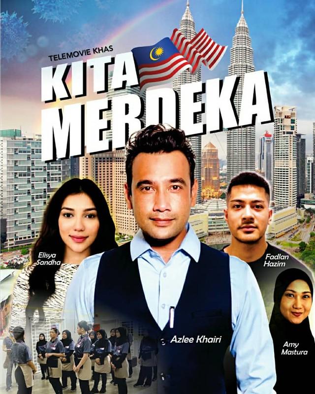 Poster Telemovie Kita Merdeka Di Tv2
