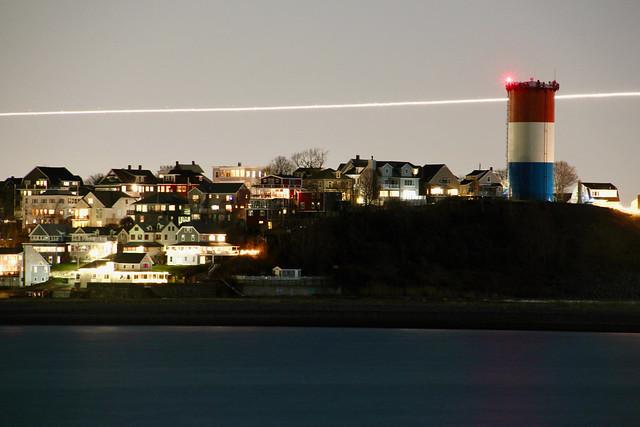 Winthrop at night
