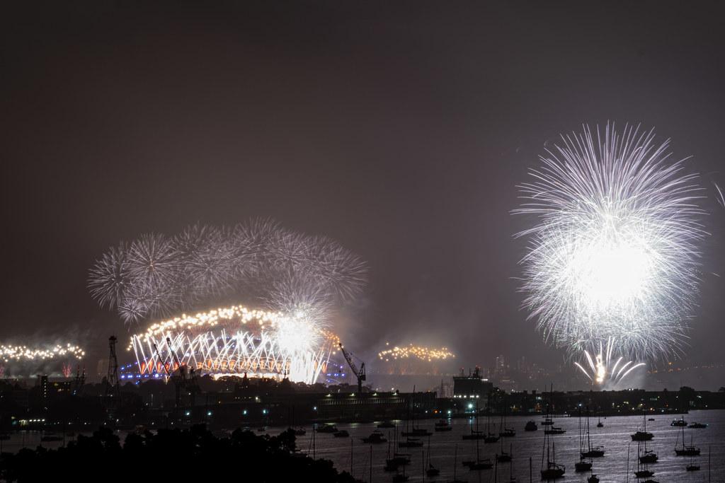 Sydney NYE 2020 fireworks finale