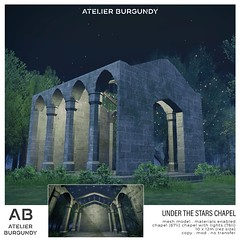 Atelier Burgundy . Under the Stars Chapel