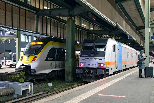 Railpool 185 691 Stuttgart Hbf