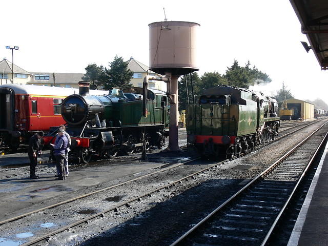 Just checking the roster... 4160 and 34046 Braunton next up